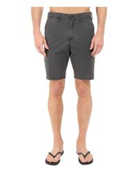 "Billabong - Black New Order X 19"" Hybrid Shorts for Men - Lyst"