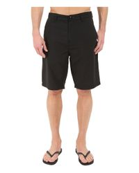 Billabong - Black Carter Hybrid Shorts for Men - Lyst
