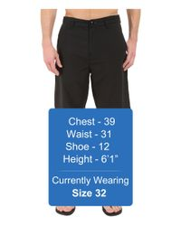 Billabong - Black Carter Hybrid Shorts for Men - Lyst