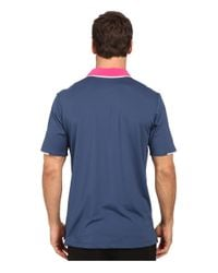 Adidas Originals - Blue Climacool® Branded Performance Polo for Men - Lyst
