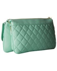 Love Moschino - Natural Long Classic Quilted Crossbody Bag - Lyst