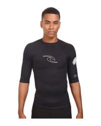 Rip Curl - Black Dawn Patrol 1.5mm Short Sleeve Jacket for Men - Lyst