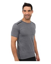 Nike - Metallic Dri-fit™ Cool Tailwind Stripe Running Shirt for Men - Lyst