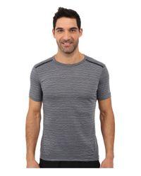 Nike - Metallic Dri-fit™ Cool Tailwind Stripe Running Shirt for Men - Lyst