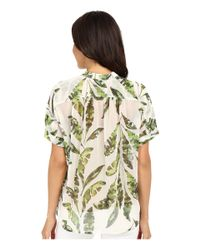 Tommy Bahama - Natural Watercolor Palmier Blouse - Lyst