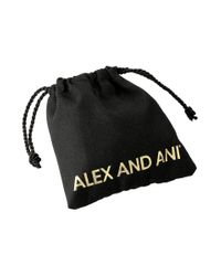 ALEX AND ANI | Metallic Precious Expandable Wire Ring | Lyst
