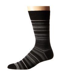 BOSS - Black Mercerized Stripe - Lyst