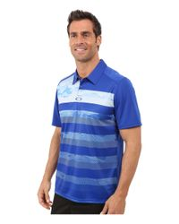 Oakley - Blue Lowers Polo for Men - Lyst