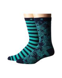 Scotch & Soda - Multicolor 2-pack Classic Socks In Fun Pattern - Lyst