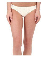 Roxy - White Hazy Daisy Base Girl Pants - Lyst