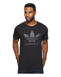 Adidas Originals | Black Clima 3.0 Tee for Men | Lyst