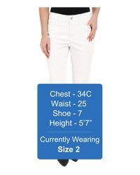 NYDJ - Lorena Boyfriend Jeans In Optic White - Lyst