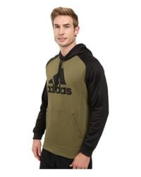 Adidas Originals - Multicolor Team Issues Fleece Pullover Hoodie - Applique for Men - Lyst