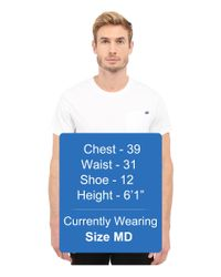 G-Star RAW - White Ratiz Short Sleeve Pocket Tee In Compact Jersey for Men - Lyst