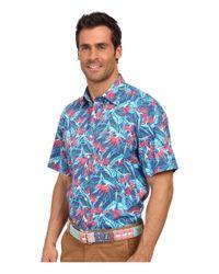 Vineyard Vines - Multicolor Birds Of Paradise Short Sleeve Murray Shirt for Men - Lyst