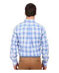 Vineyard Vines - White Barbados Plaid Classic Tucker Shirt for Men - Lyst