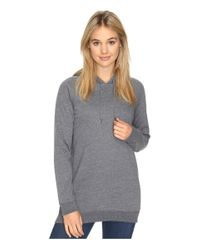 Volcom | Blue Lived In Fleece Pullover Hoodie | Lyst
