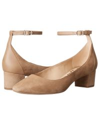 Sam Edelman | Multicolor Lola Blocked Heel Ballet Shoes | Lyst