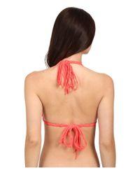 Mikoh Swimwear - Red Indies Top - Lyst