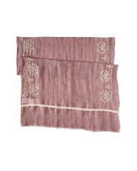 Liebeskind - Pink F1169501 Cotton Scarf - Lyst