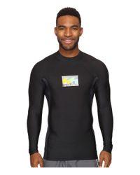 Billabong | Black Iconic Long Sleeve Rashguard for Men | Lyst