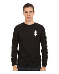 Huf | Black Ashes To Ashes Long Sleeve Tee for Men | Lyst
