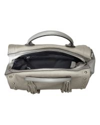 French Connection - Gray Hayden Satchel - Lyst