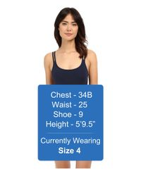 Jets by Jessika Allen - Black Jetset Double Strap One-piece Swimsuit - Lyst