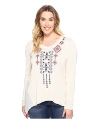 Roper | White Plus Size 0588 Solid Sweater Jersey Tunic | Lyst