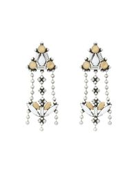 DANNIJO | Metallic Sagrada Earrings | Lyst