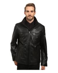 Marc New York | Black Plymouth Leather Jacket for Men | Lyst