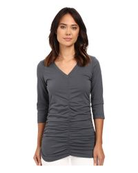 XCVI - Multicolor Mission V-neck - Lyst