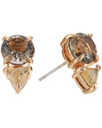 Vince Camuto - Multicolor Stud Earrings - Lyst