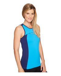 Asics - Blue Tennis Club Tank Top - Lyst