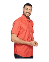 Mountain Hardwear Multicolor Denton Short Sleeve Shirt for men