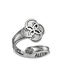 ALEX AND ANI | Blue Spoon Ring Breath Of Life | Lyst