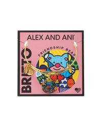 ALEX AND ANI - Pink Romero Britto Art Infusion Friendship Bear - Lyst
