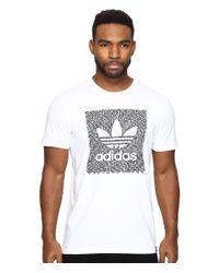 Adidas Originals | White Blackbird Word Camo Tee for Men | Lyst