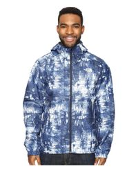 The North Face - Blue Millerton Jacket for Men - Lyst