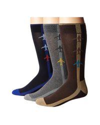 Hue | Black Jetsetter Sock 3-pack for Men | Lyst