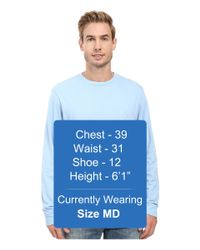 Vineyard Vines - Multicolor Long Sleeve Two-tone Vintage Whale Pocket T-shirt for Men - Lyst