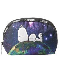 LeSportsac   Multicolor Medium Dome Cosmetic   Lyst