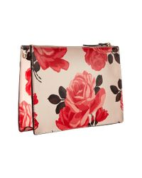 Kate Spade - Pink Cameron Street Roses Clarise - Lyst