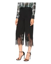 McQ Alexander McQueen - Black Fluid Cropped Pants - Lyst