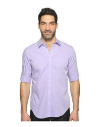 Calvin Klein | Purple Chambray Button Down for Men | Lyst