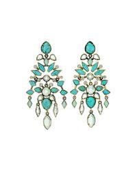 Kendra Scott | Blue Aryssa Chandelier Earrings | Lyst
