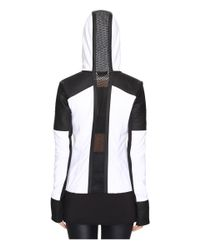 Blanc and Noir Black Nighthawk Hoodie