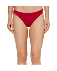 Roxy | Red Strappy Love Surfer Bikini Bottom | Lyst