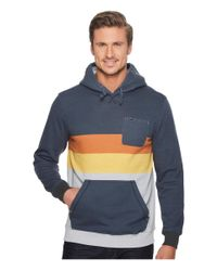 Rip Curl - Blue Crew Pullover Fleece for Men - Lyst