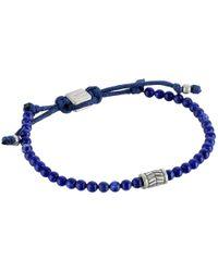 Fossil - Metallic Vintage Casual Beaded Bracelet - Lyst
